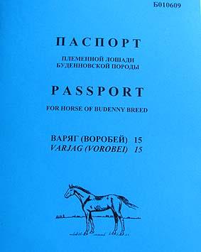 Как сделать паспорта на лошадей 934